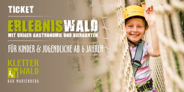 Kinder & Jugendliche Erlebnis Kletterwald